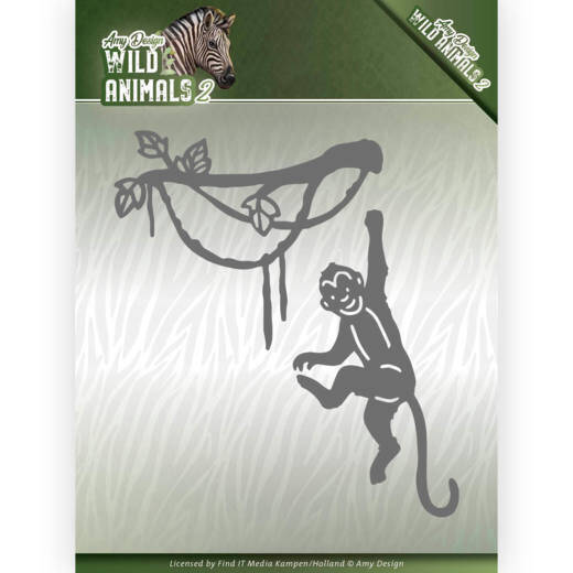 Dies - Amy Design - Wild Animals 2 - Spider Monkey  Amy Design