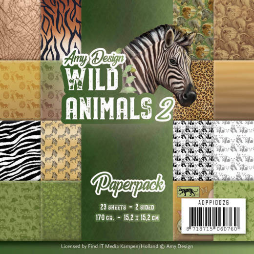 Paperpack - Amy Design - Wild Animals 2  Amy Design