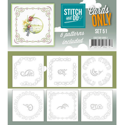 Cards only Stitch 51