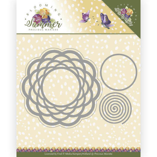 Dies - Precious Marieke - Blooming Summer - Braided Circle