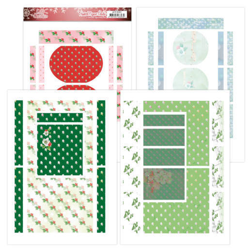 Printed Figure Cards - Jeanine's Art - Lovely Christmas