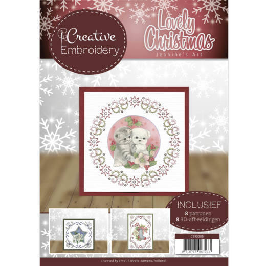 Creative Embroidery 5 - Jeanine's Art - Lovely Christmas  Jeanines Art  CB10005