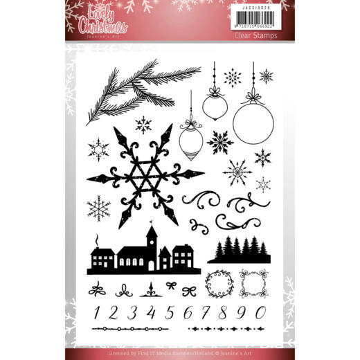 Clear Stamps - Jeanine's Art - Lovely Christmas JACS10029