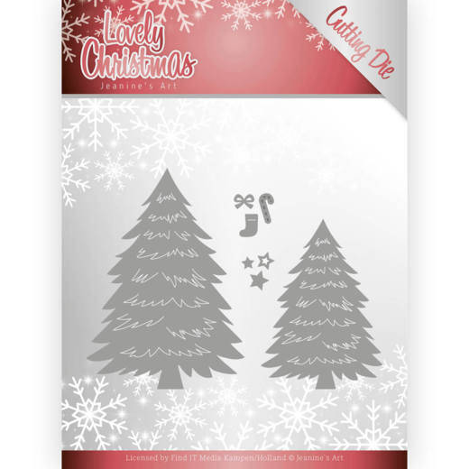 Dies - Jeanine's Art - Lovely Christmas - Lovely Trees  Jeanines Art  JAD10081