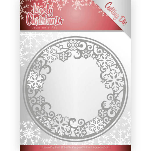 Dies - Jeanine's Art - Lovely Christmas - Lovely Circle Frame  Jeanines Art  JAD10077