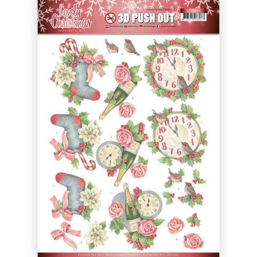 3D Pushout - Jeanine's Art - Lovely Christmas - Lovely Christmas Time  SB10389