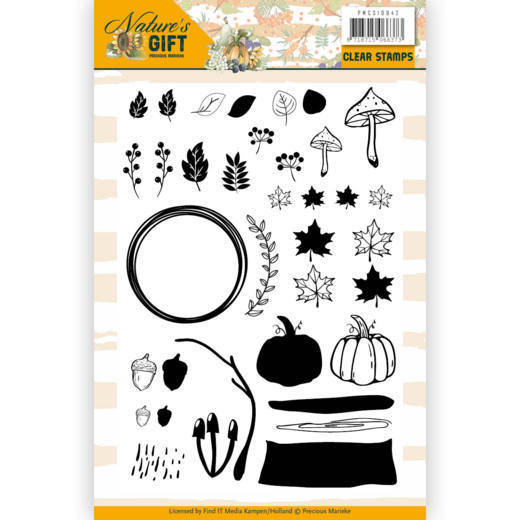 Clear Stamps - Precious Marieke - Nature's Gift