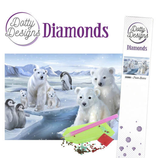 Dotty Designs Diamonds - Polar Bears DDD10004