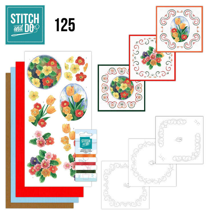 Stitch and Do 125 - Spring Flowers