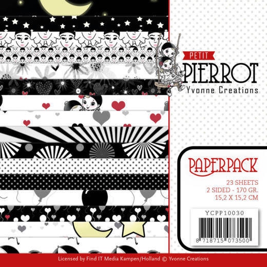 Paperpack - Yvonne Creations - Petit Pierrot