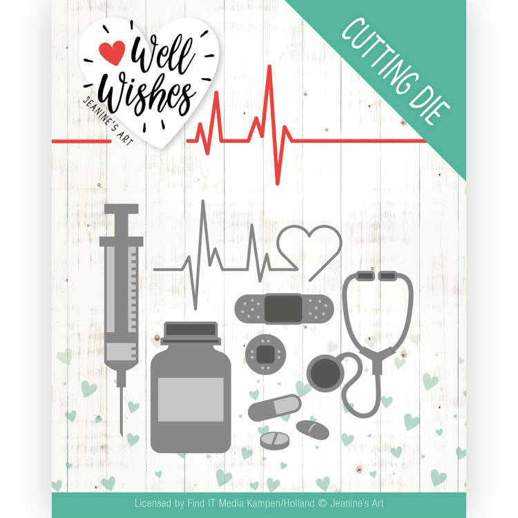 Dies - Jeanine's Art - Well Wishes - Getting Well