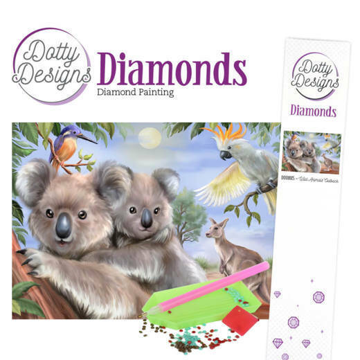 Dotty Designs Diamonds - Wild Animals Outback