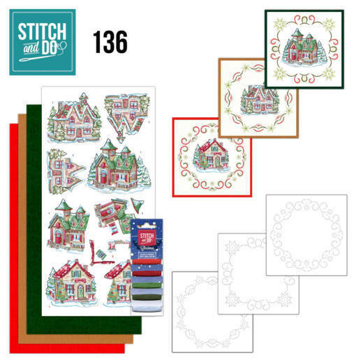 Stitch and Do 136 - Yvonne Creations - Villages