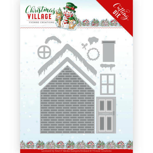 Dies - Yvonne Creations - Christmas Village - Build Up House