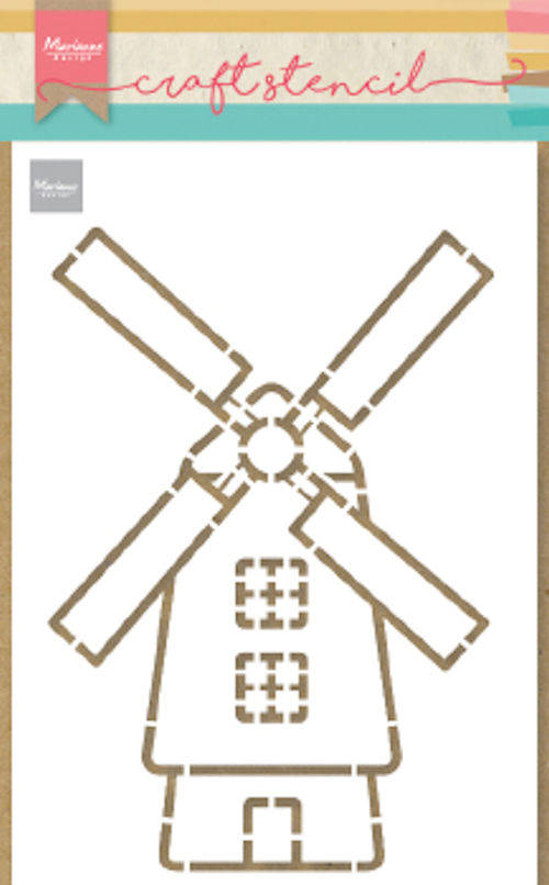 Craft stencil Windmill