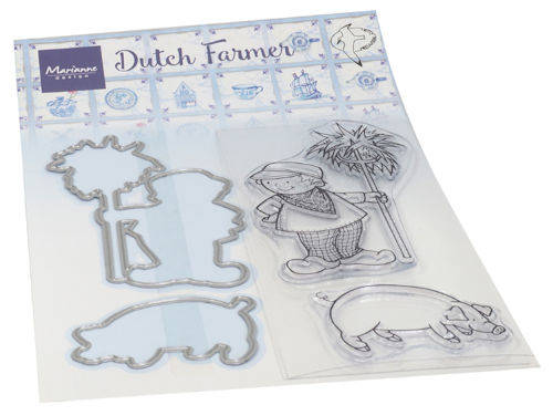 Clear stamp Hetty's Dutch farmer