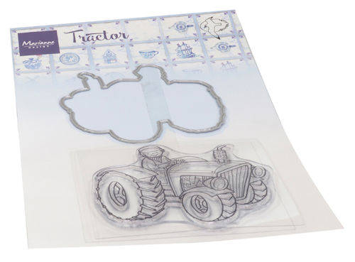Clear stamp Hetty's tractor