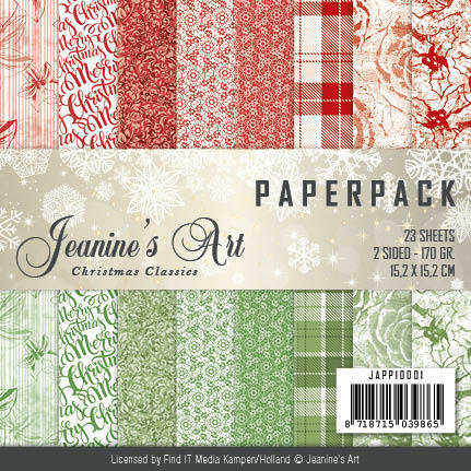 Paperpack - Jeanines Art - Christmas Classics JAPP10001