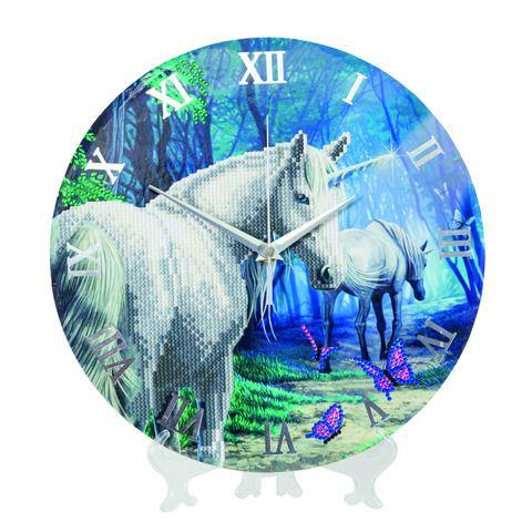 "CLK-S5: ""The Journey Home"" Crystal Clock Kit - 30cm"