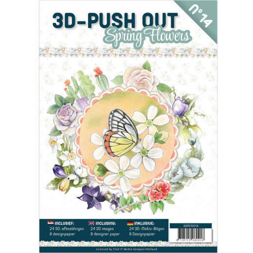 Pushout Book 14 Spring Flowers