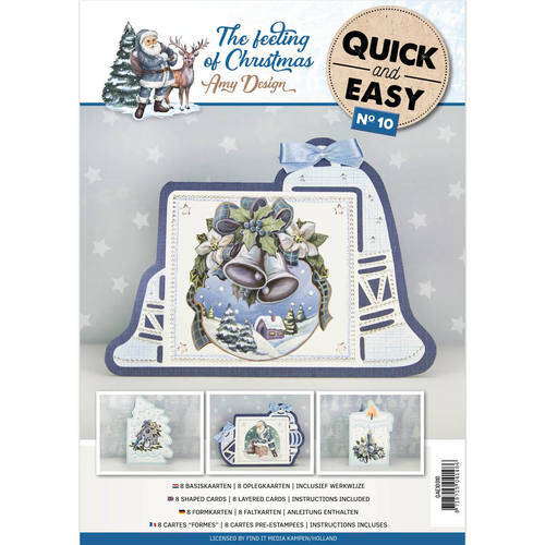 Quick and Easy 10 - The feeling of Christmas  Amy Design