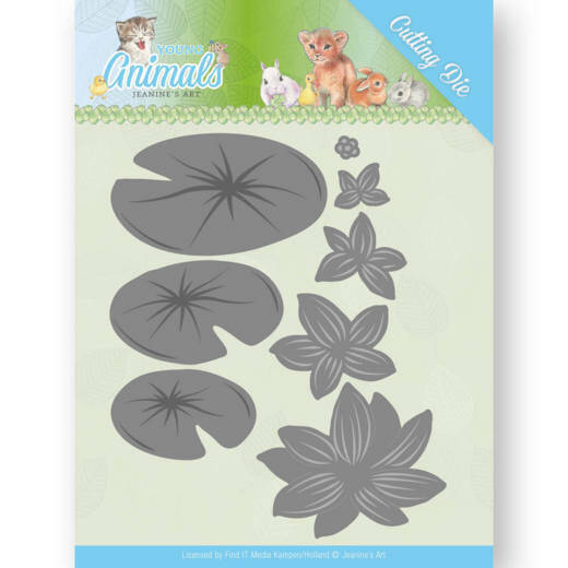 Dies JAD10069  Jeanine's Art - Young Animals - Lily Pond Leaves