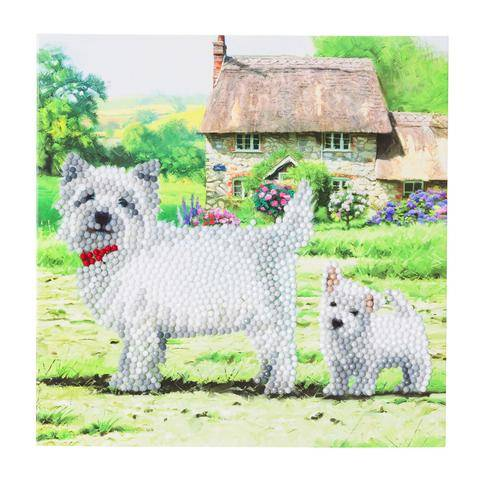 "CCK-A52 ""Westie"" Crystal Card Kit"