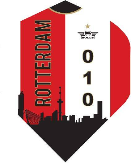 Powerflite D Std. Rotterdam Shirt Skyline Red