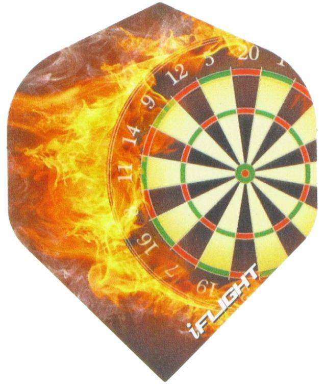 "i-Flight Std. ""Dartboard Flames"""