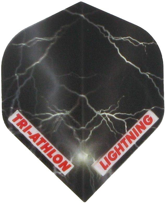 Triathlon Lightning Std. Clear Black
