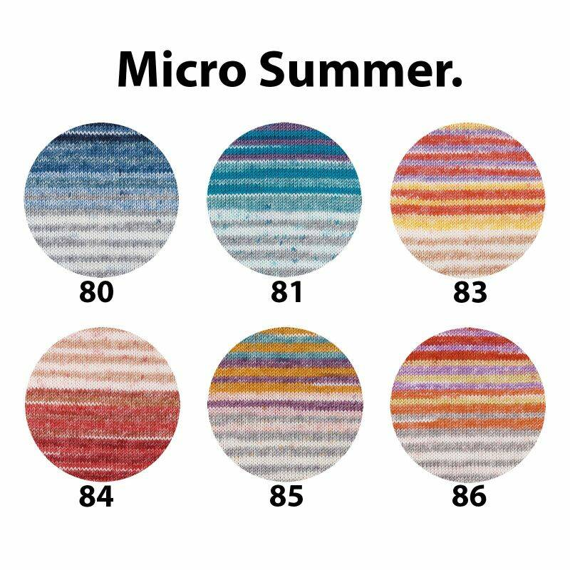 Schachenmayr Micro Summer Trend Color - 50% korting!