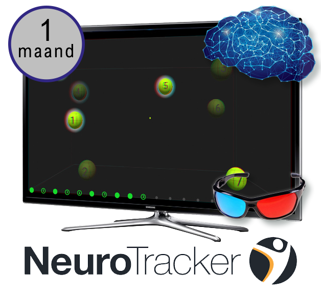 NTX NeuroTracker Brain Training (1 maand)