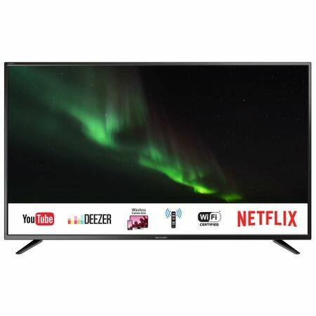 SHARP LC-65CUG8052E Smart LED televízió, 164 cm, 4K Ultra HD