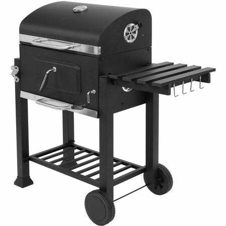 Deluxe faszén grill 57X37cm Lund 99588