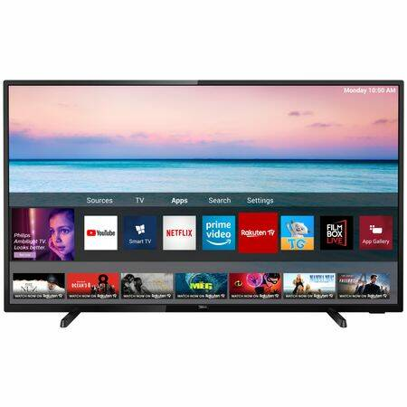 Philips 43PUS6504/12 Smart LED Televízió, 108 cm, 4K Ultra HD