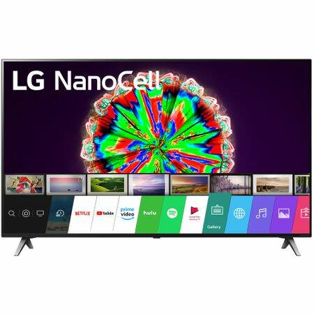 LG 49SM8050PLC NanoCell Smart LED Televízió, 124 cm, 4K Ultra HD, HDR, webOS ThinQ AI