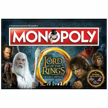 Lord of the Rings Monopoly társas