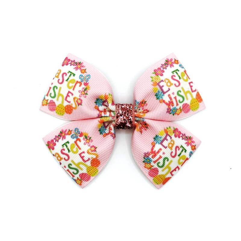 Easter wishes bow