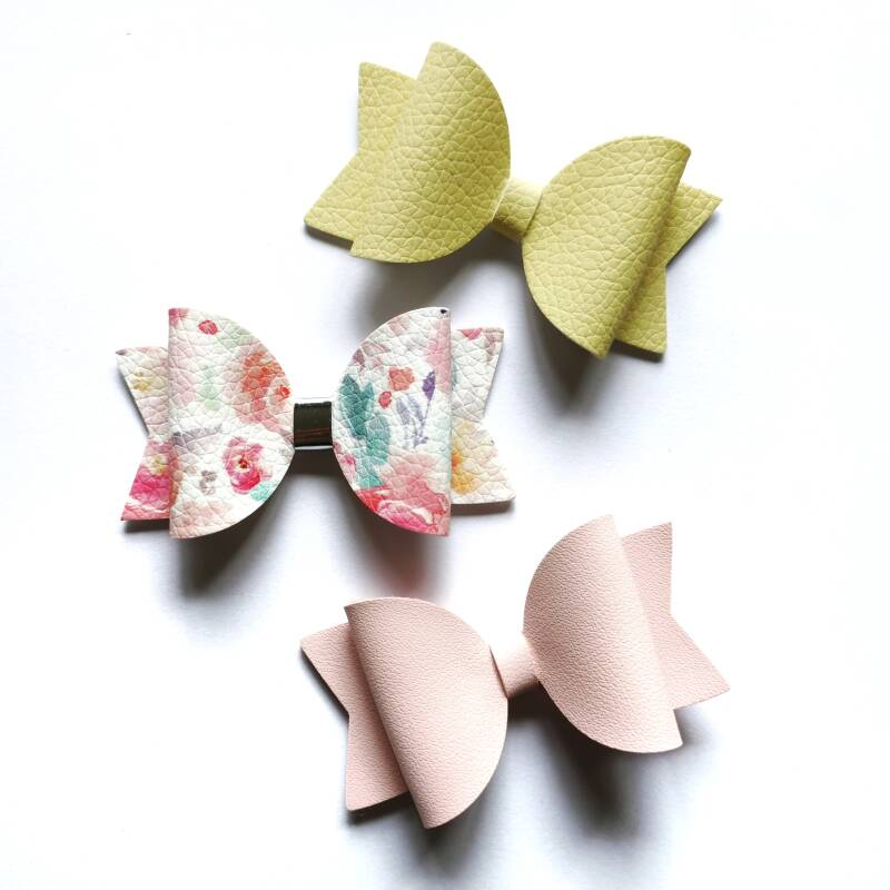 Pink/yellow flowers baby set