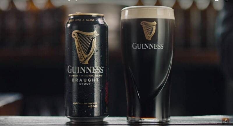 Guinness draught 33cl.