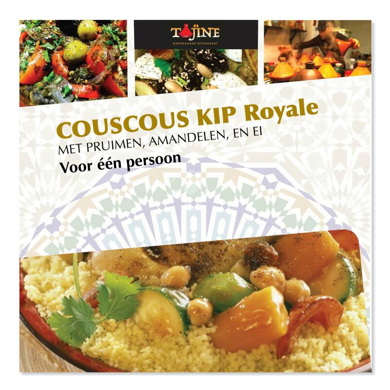 ROYAL CHICKEN COUSCOUS