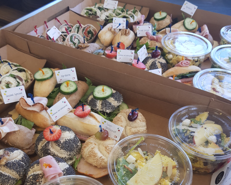 Luxe borrel lunch (per 2 pers.)