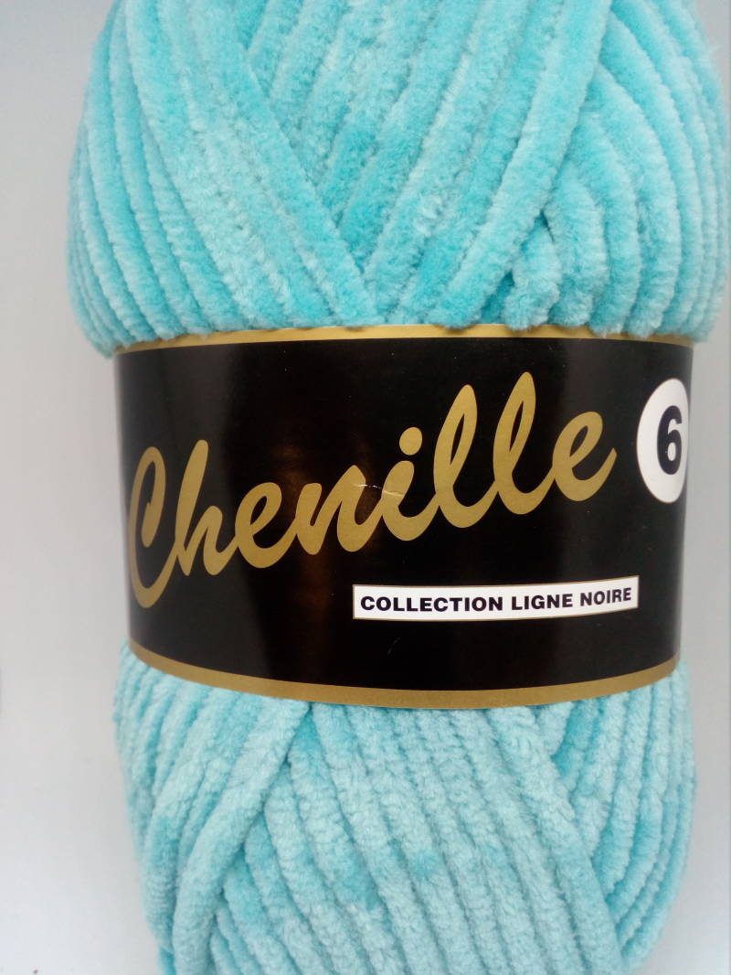 Chenille Turquoise