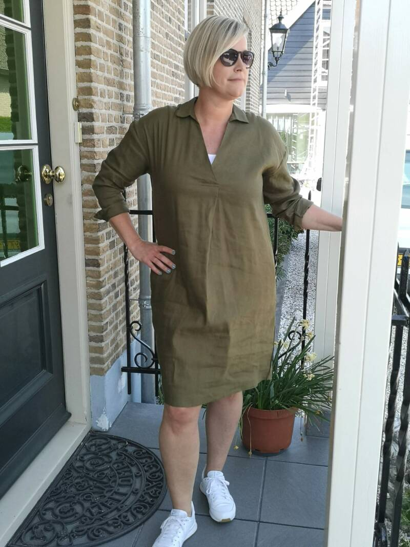 NUARIANELL DRESS OLIVE