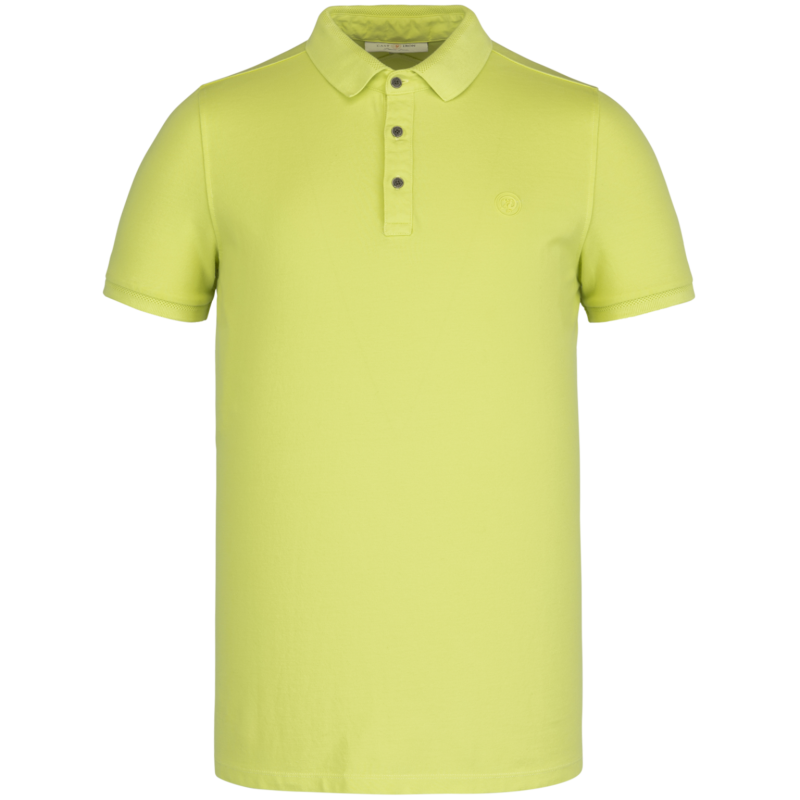 SHORT SLEEVE POLO LIGHT PIQUE STRETCH LIME GREEN
