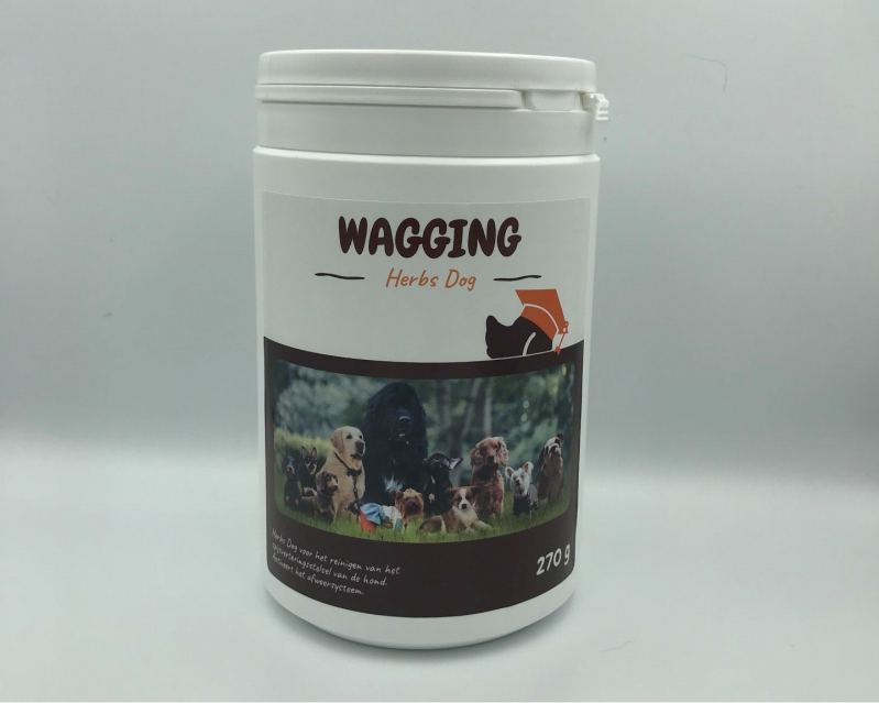 Wagging herbs for dogs
