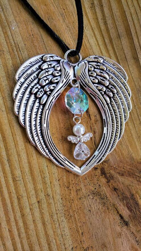 Angel Wings Sun Catcher - Angel