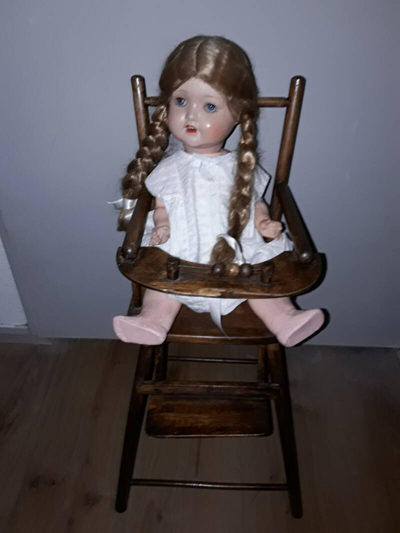 Torck poppenspel met SP doll