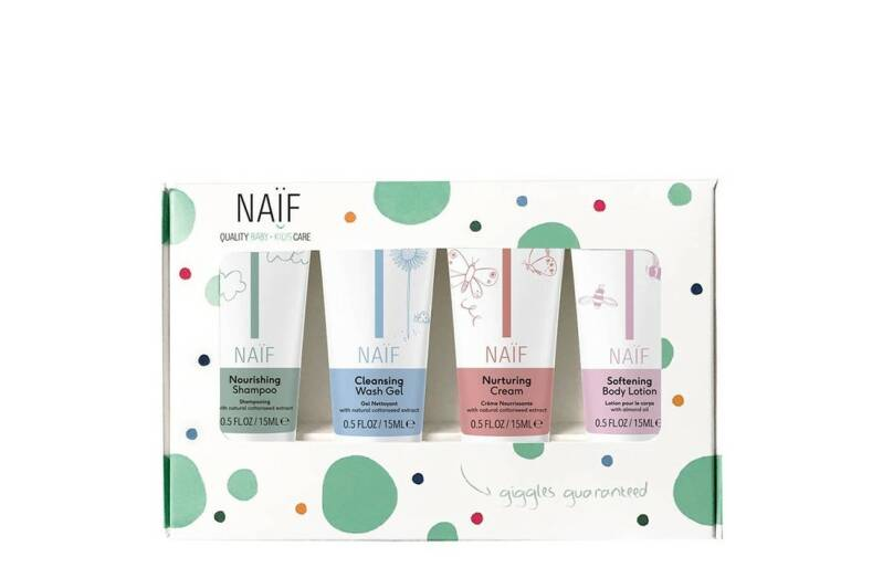 Naïf baby mini set 4x15ml