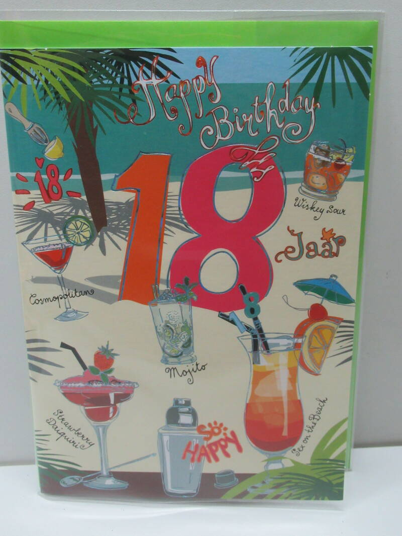 18 jaar - beach cocktails